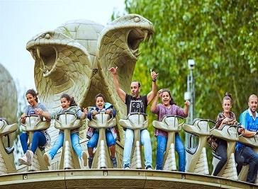Chessington World of Adventures Resort in Kingston upon Thames