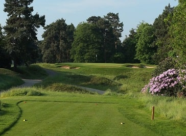 Coombe Hill Golf Club in Kingston upon Thames
