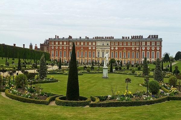 Hampton Court Palace in Kingston upon Thames
